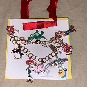 NWT DisneyPark Collection Toy Story Charm bracelet